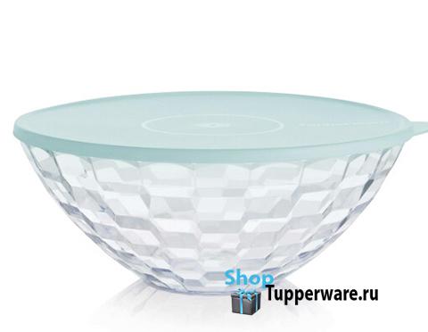 Бриллиант чаша 3,5л прозрачная