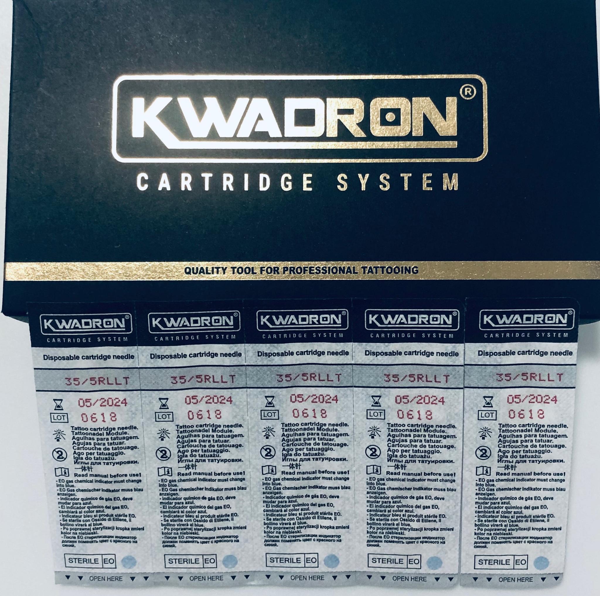"""KWADRON Round Liner 30/5RLLT -20 шт упаковка. Модули для татуажа"