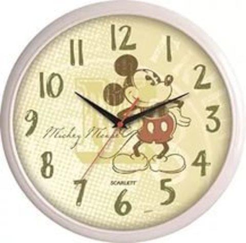 Настенные часы Scarlett Disney SC-WCD03M