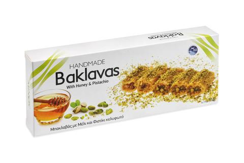 Баклава с медом и фисташками Candianuts 175 гр