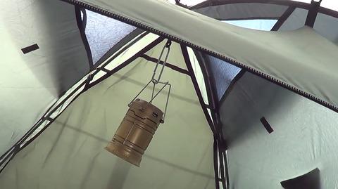 Палатка Canadian Camper RINO 3, вентиляция.
