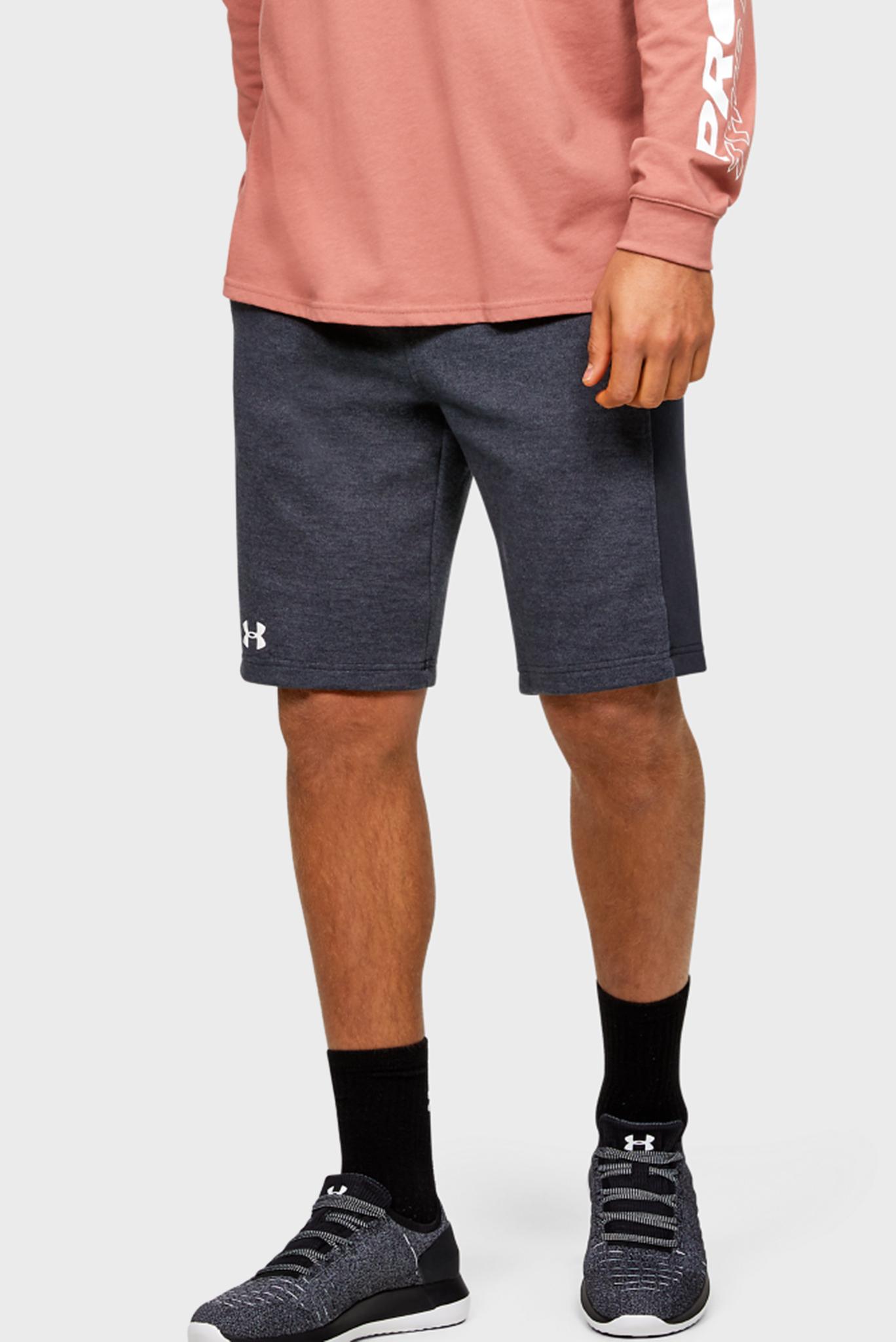Мужские темно-серые спортивные шорты DOUBLE KNIT SHORT Under Armour