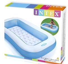 Надувной игровой детский бассейн интекс упаковка коробка