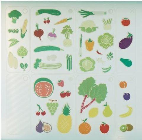 стикеры на умном холодильнике