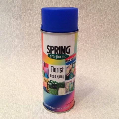 Краска-спрей SPRING (объем:400мл) Цвет: 045 ярко-синий