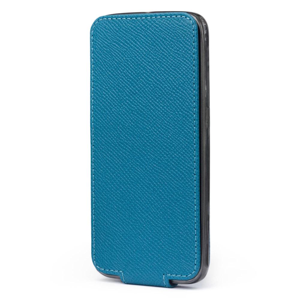 Чехол для Samsung Galaxy S6 из натуральной кожи теленка, морского цвета