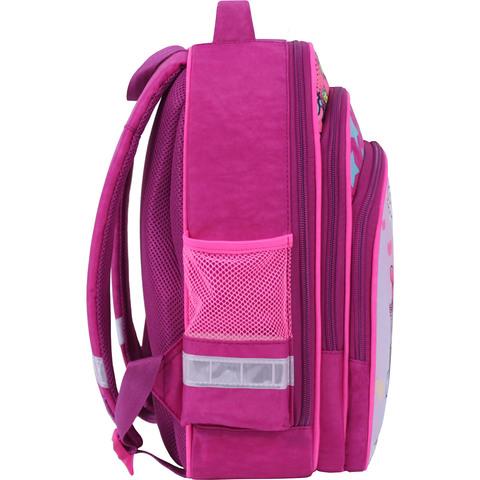 Рюкзак школьный Bagland Mouse 143 малиновый 515 (00513702)