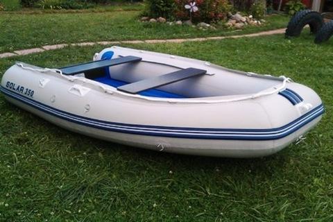 Лодка надувная моторная SOLAR 350 МАКСИМА