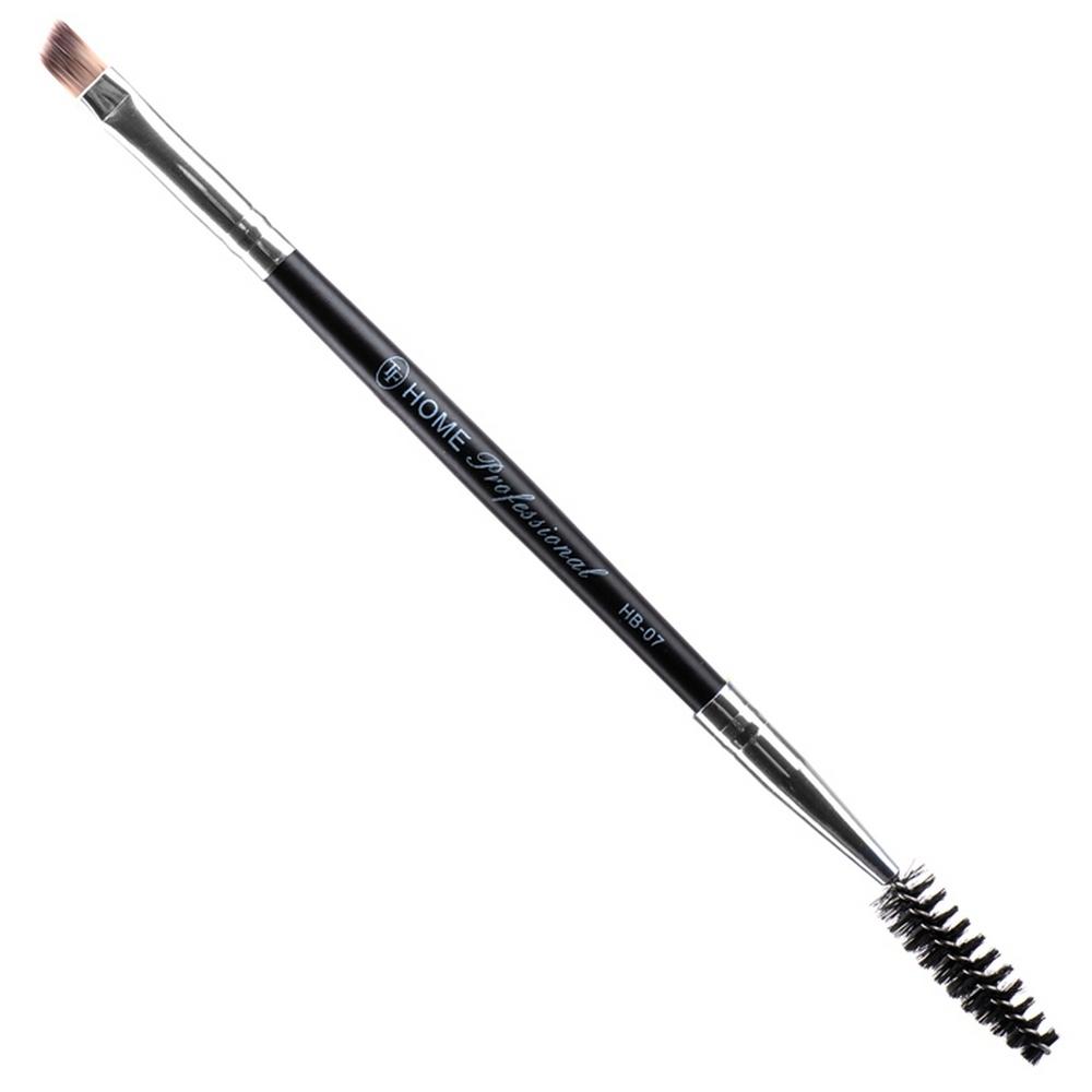 Кисть для бровей и ресниц двухсторонняя Home Professional HB-07