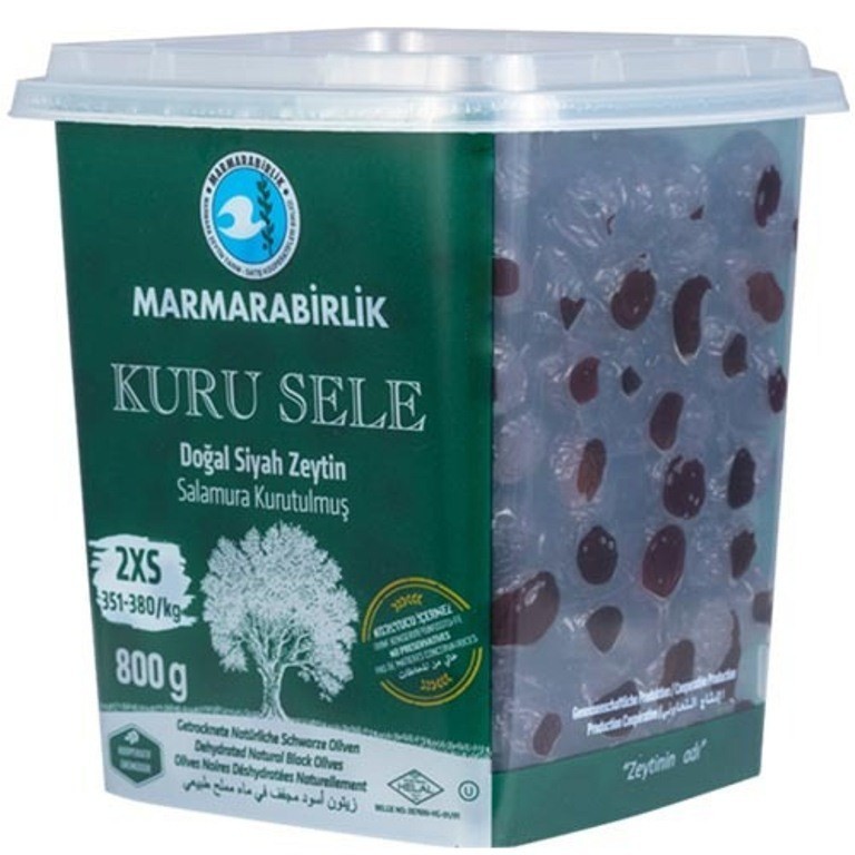 Marmarabirlik Маслины Kuru Sele вяленые 2XS, Marmarabirlik, 800 г import_files_6a_6a05e556d58911eba9f8484d7ecee297_e2eabf22018a11ecaa00484d7ecee297.jpg