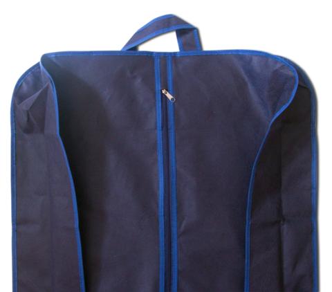 Объемный прямой чехол для свадебного платья 65*170*15 см