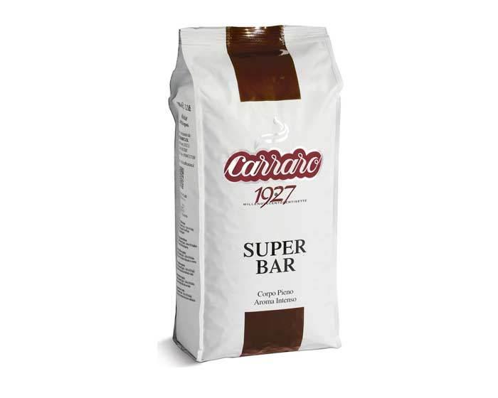 Кофе в зернах Carraro Super Bar, 1 кг