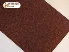 Фоамиран с блестками шоколадный 2 мм