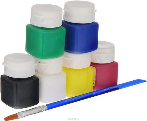 Набор красок по стеклу и керамике Lefranc&Bourgeois MISS DECO Glass&Tile (6 х 20 мл)