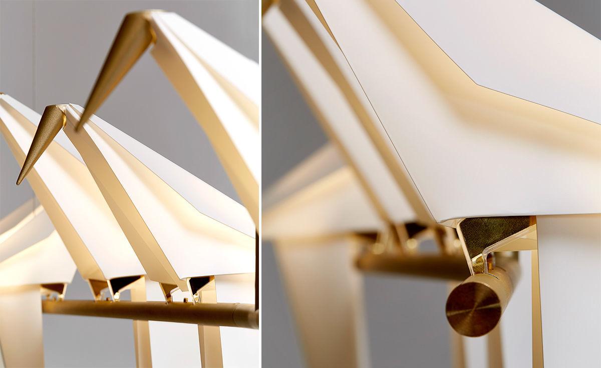 Подвесной светильник копия PERCH by Moooi (5 плафонов)