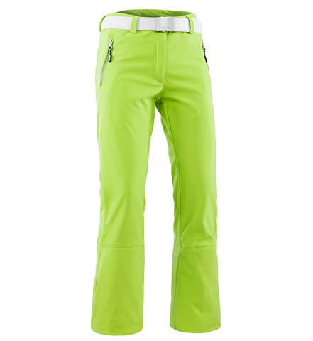 Брюки горнолыжные 8848 Altitude «SPIN SOFTSHELL» Lime женские