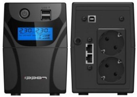ИБП Ippon Back Power Pro II 850 Euro (1005575)