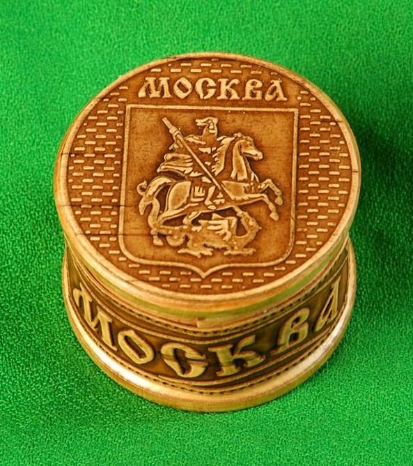 Шкатулка Москва герб