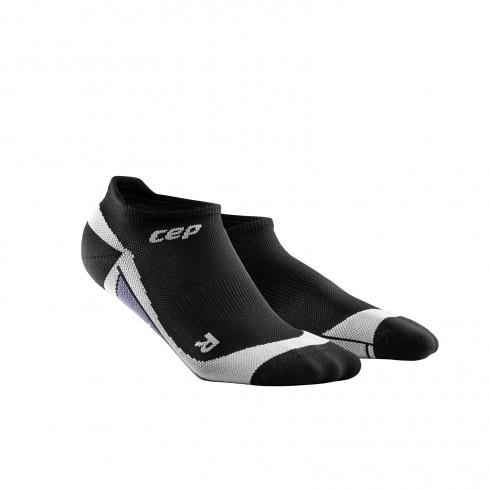 Для занятий спортом Функциональные ультракороткие гольфы CEP для занятий спортом 23_cep_no_show_socks_black_grey.jpg