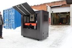 Всепогодный шумозащитный контейнер SB1800 для дизельных генераторов