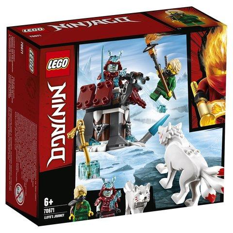 LEGO Ninjago: Путешествие Ллойда 70671 — Lloyd's Journey — Лего Ниндзяго