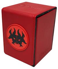 Ultra Pro - Кожаная коробочка Rakdos (100 карт)