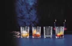 Набор из 4-х бокалов Whisky Square, 345 мл, фото 2