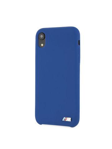 BMW / чехол для телефона iPhone XR | M-Collection Liquid silicone Hard TPU Navy