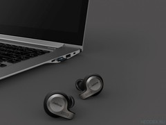 Jabra Evolve 65t беспроводная гарнитура Titanium Black, Bluetooth, Link 370, UC ( 6598-832-209 )