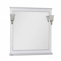 Зеркало Aquanet Валенса 100 белое матовое