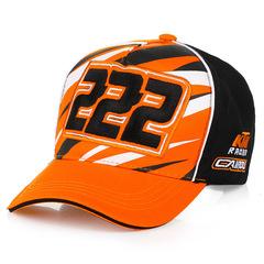 Стильная бейсболка с вышивкой КТМ (Кепка KTM) оранжевая/ черная