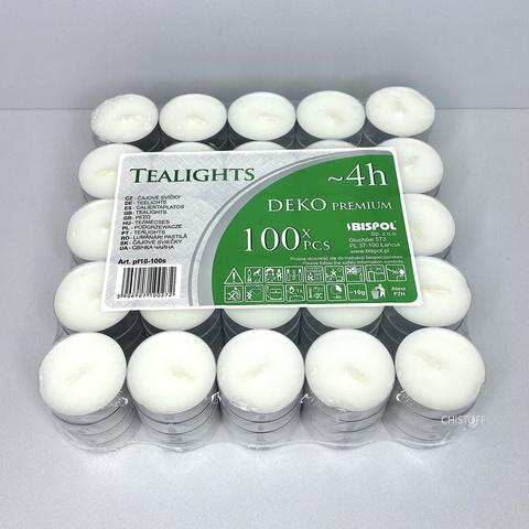 Свечи чайные (таблетки) Bispol (100 шт.)