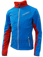 Детская утеплённая лыжная куртка Nordski Jr.National Blue