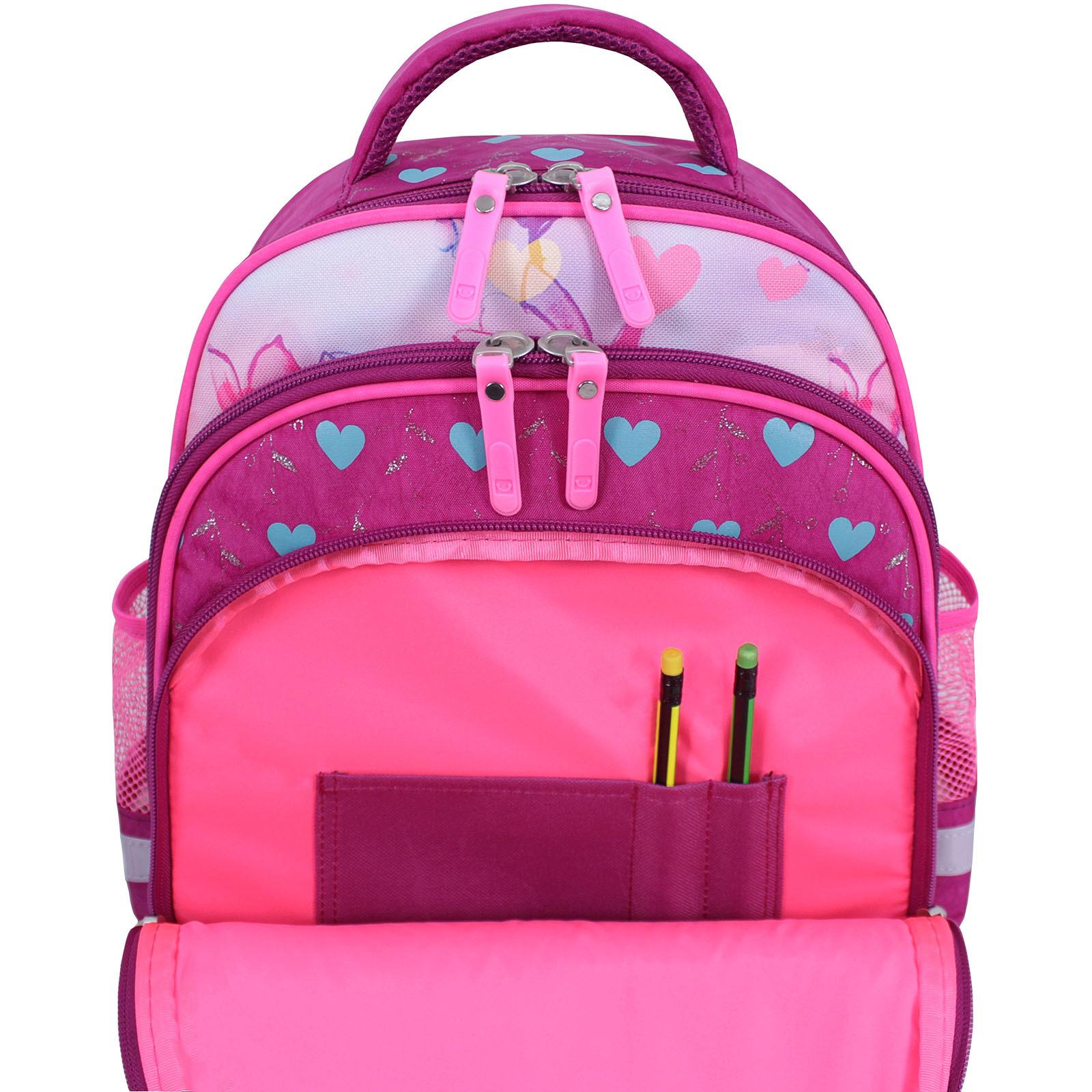 Рюкзак школьный Bagland Mouse 143 малиновый 515 (0051370) фото 5