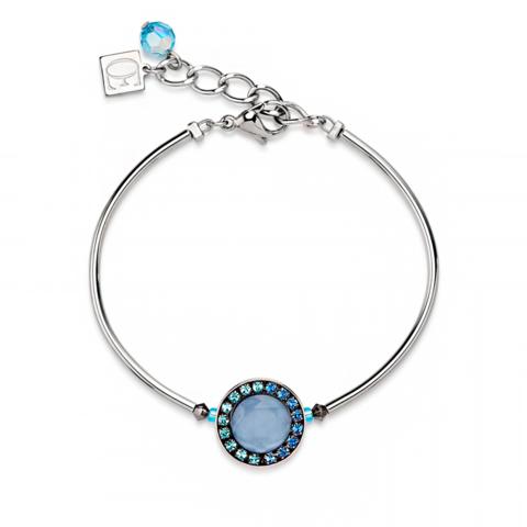 Браслет Coeur de Lion 4865/30-0720 цвет голубой