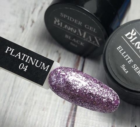 Гель краска Platinum series №4, 5 мл