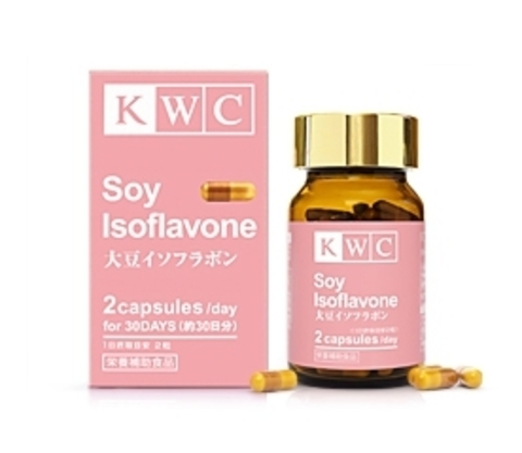 Соевый изофлавон, KWC, 60 капсул