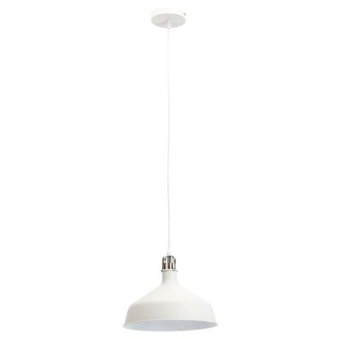 Подвесной светильник Эра PL2 WH/SN шагрень белый/сатин никель