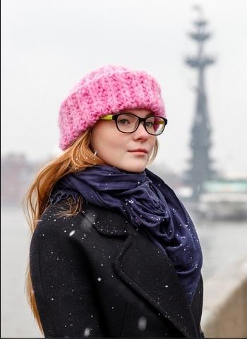 Berry Me Hat Fashionbox by Rodina Yarns