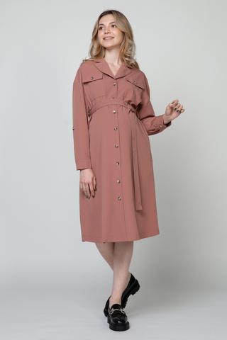 Платье для беременных 12925 розовый
