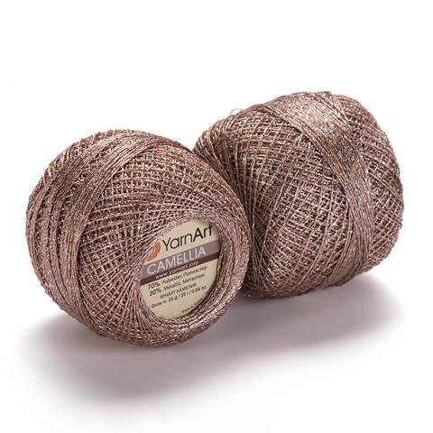 Пряжа Camellia (Камелия) Бежевый. Артикул: 418