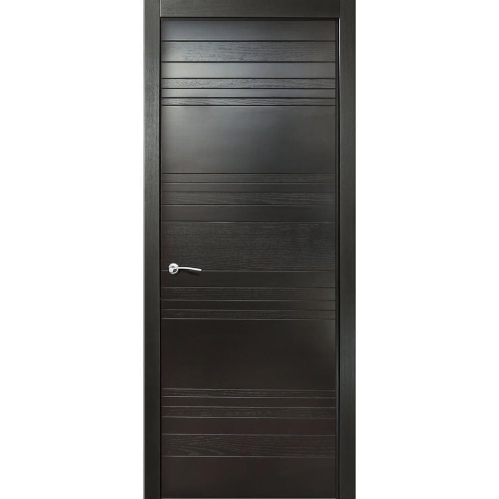 Двери Milyana Межкомнатная дверь чередование шпон/эмаль Milyana ID E неро глухая id-e-nero-dvertsov.jpg