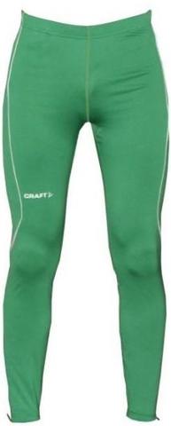 Тайтсы Craft Track and Field мужские зеленые