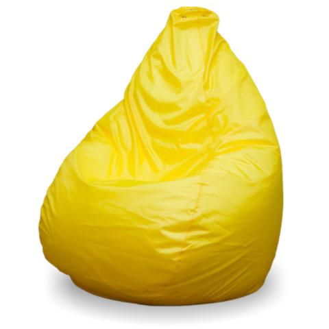 Пуффбери Внешний чехол Кресло-мешок груша  XL, Оксфорд Желтый