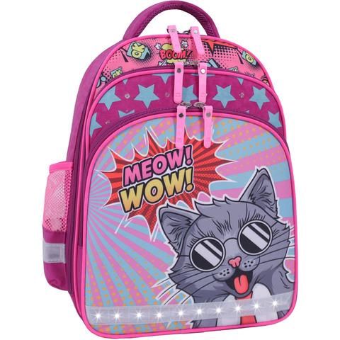 Рюкзак школьный Bagland Mouse 143 малиновый 510 (00513702)
