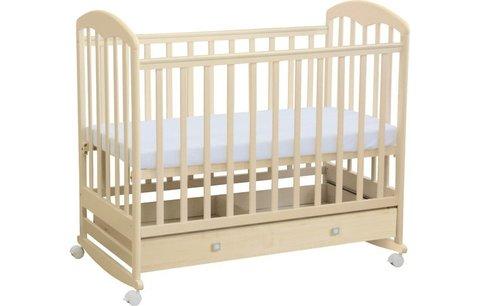 Кроватка детская Polini kids Simple 325, натуральный
