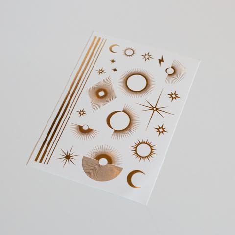 Набор переводных татуировок SYMBOLS (золото)