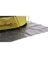 Подложка (подстилка) под дно палатки Redfox Ground sheet PE 4x4.5 4000/серый - 2