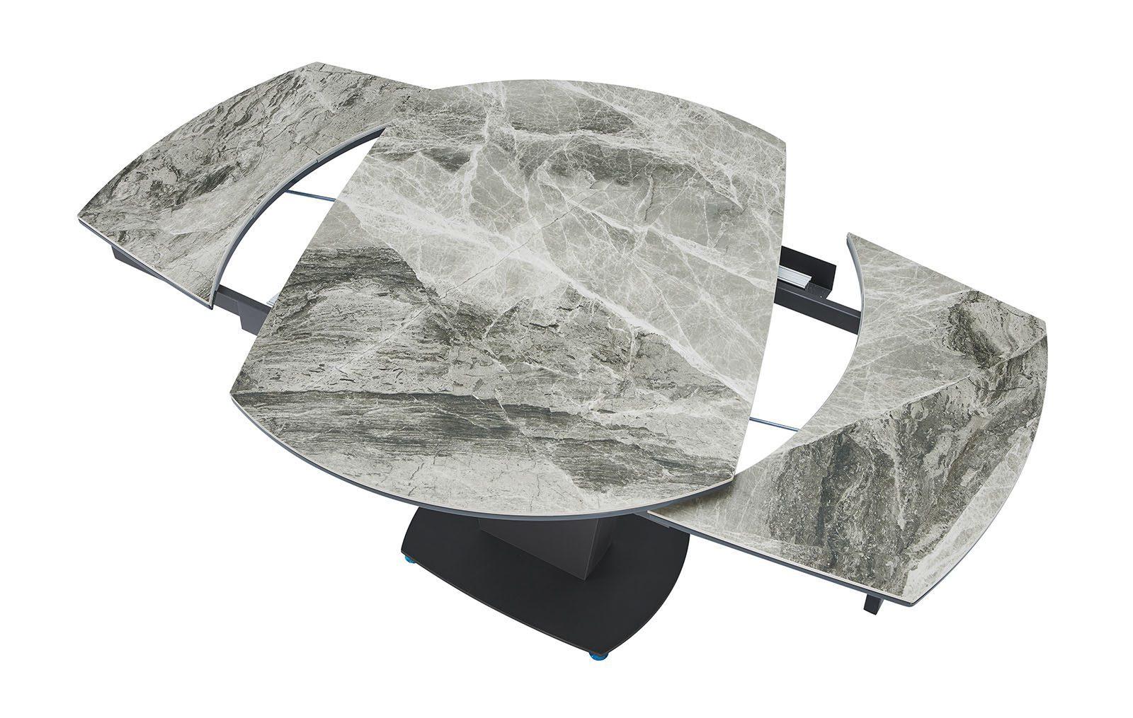 Стол B2417-6 темно-серая керамика