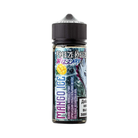 Жидкость Freeze Breeze Blizard 120 мл Mango Ice